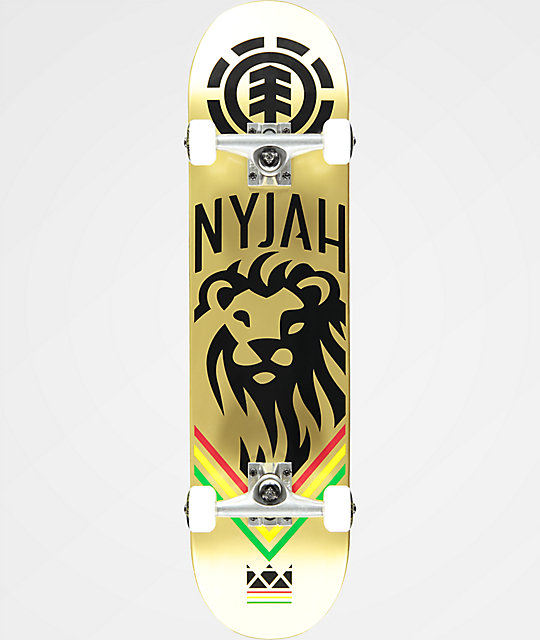 "Element Nyjah King 7.75"" Complete Skateboard"