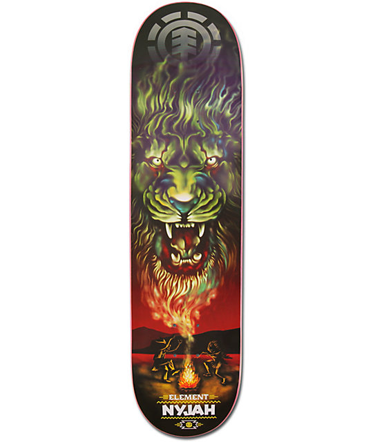 "Element Nyjah Smoke Signal 8.0""  Skateboard Deck"