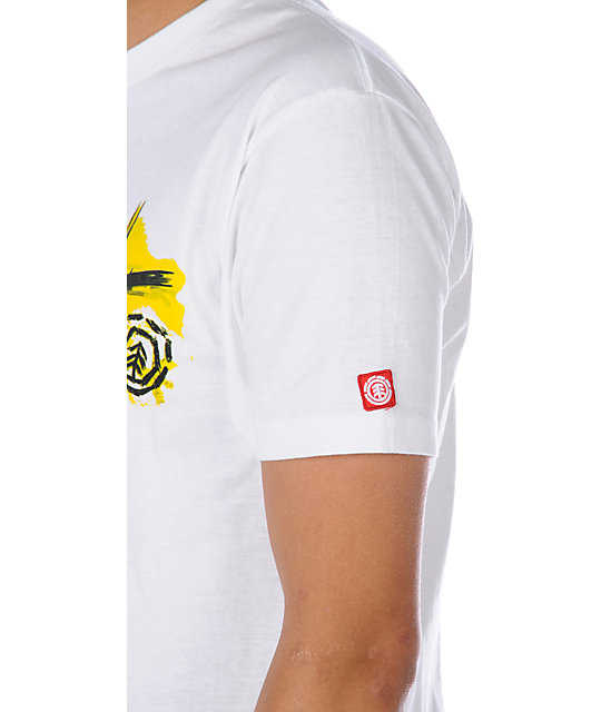 Element On High White T-Shirt