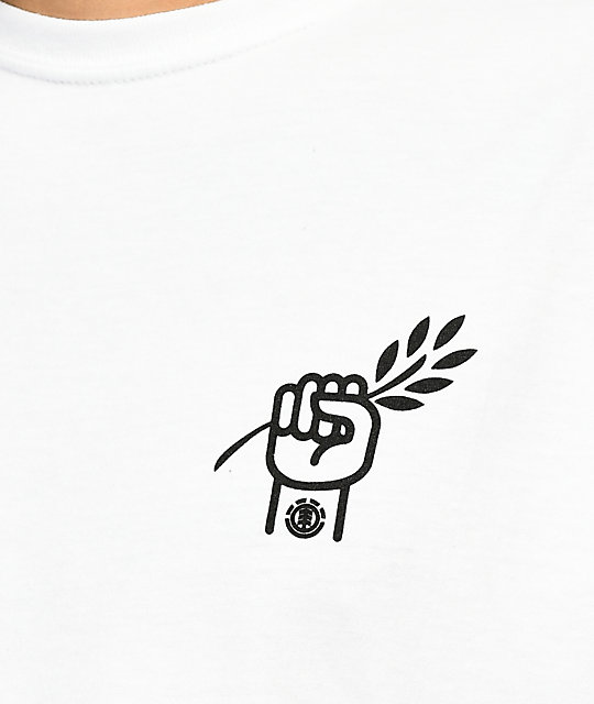 Element PTTP Branch White T-Shirt