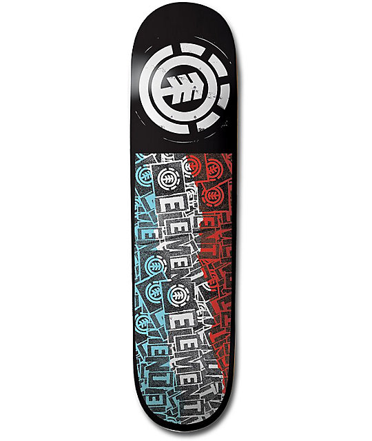 "Element Pasted 7.75""  Skateboard Deck"
