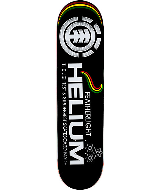"Element Rasta Helium Featherlight 7.75""  Skateboard Deck"