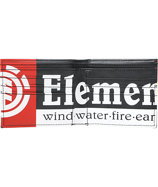 Element Royalist Rasta Bifold Wallet