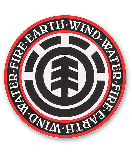 Element seal logo sticker