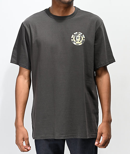 Element Shapes Black T-Shirt
