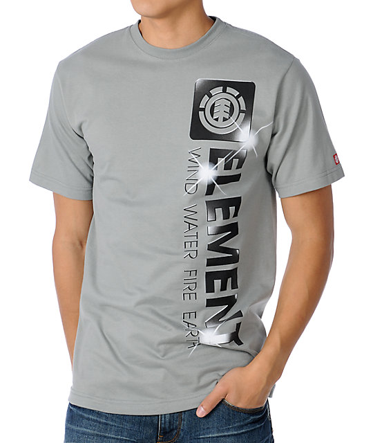 Element Shine Grey T-Shirt