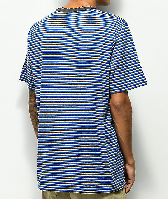 Element Striped Blue T-Shirt