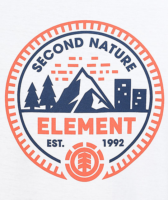 Element Teton White T-Shirt