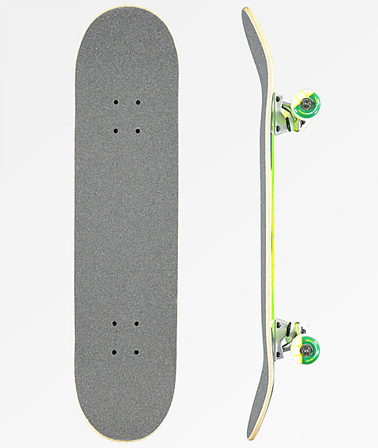 "Element U R What You Eat 7.7"" Skateboard Complete"
