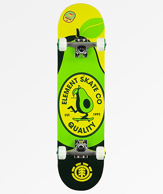 "Element U R What You Eat 7.7"" completo de skate"