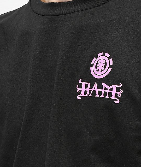 ... Element x BAM x HIM Heartagram V2 Black Long Sleeve T-Shirt ... d76107bc129