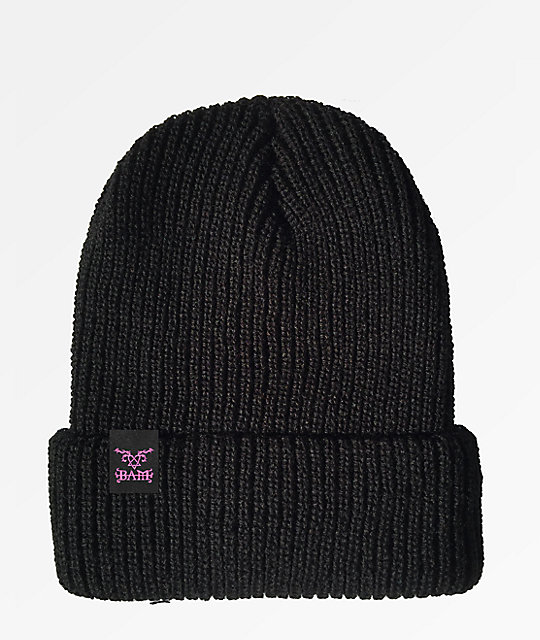 Element x Bam x HIM Bam Margera Him Black Beanie