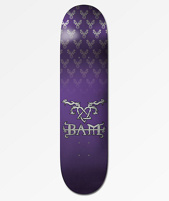 Element x Bam x HIM Bam Tattoo Purple 8.0