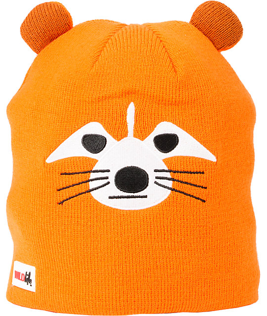 Elm Wildlife Fox Orange Beanie