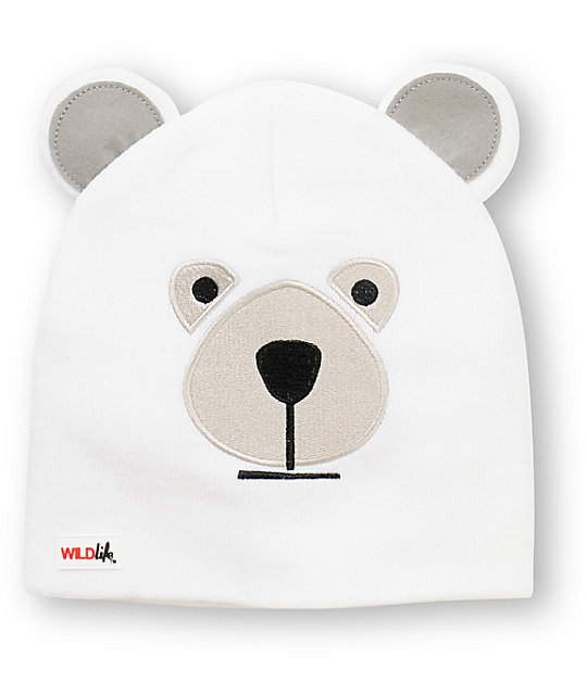 9980de3881a Elm Wildlife Polar Bear Beanie