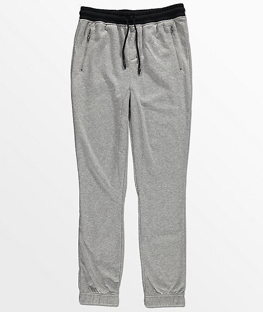 6eee73ea53 Elwood Boys Zipper Pocket & Gusseted Grey Jogger Pants