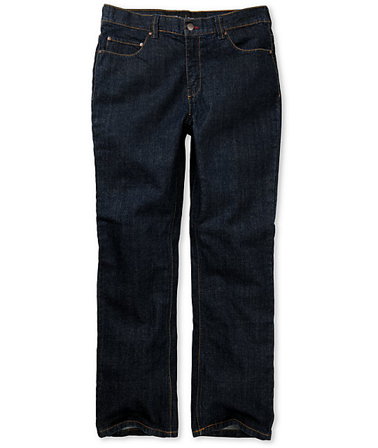 Elwood Dry Indigo OG Rigid Regular Fit Jeans