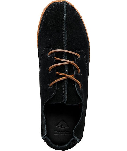 Emerica Hopi Black Suede Shoes