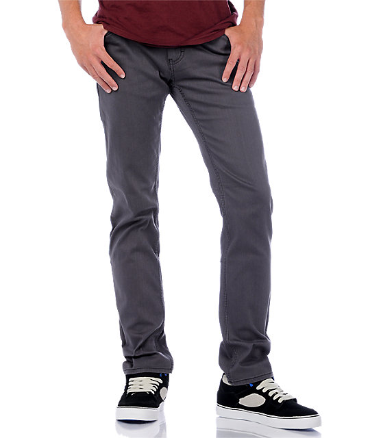Emerica Hsu Twill Grey Pants