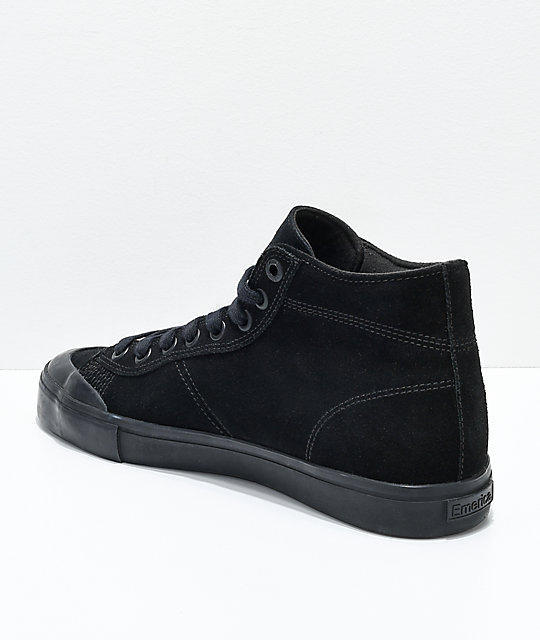 Emerica Indicator Hi Black Widow Skate Shoes