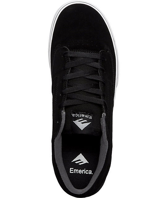 Emerica Jinx Black & White Shoes