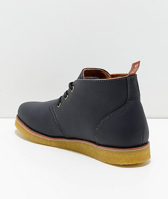 Emerica Reserve x Templeton Dark Blue Desert Boot
