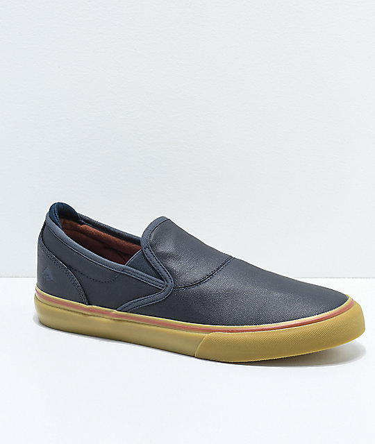 Emerica Reserve x Templeton Wino G6 Slip-On Skate Shoes