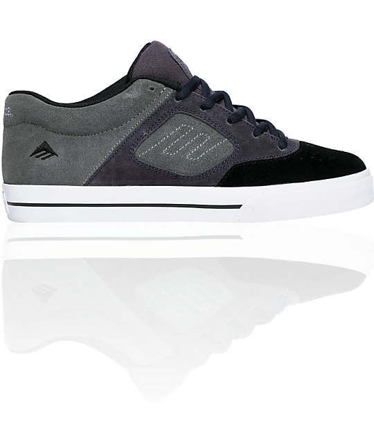Emerica Reynolds 3 Dark Grey Shoes