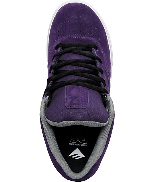 Emerica Reynolds 3 Purple Shoes