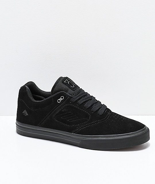 Emerica Reynolds G6 Vulc Black Skate Shoes