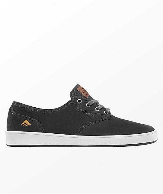 ce220509c4f Emerica Romero Laced Dark Grey Skate Shoe