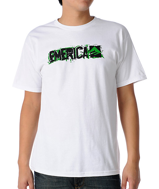 Emerica Stick Around White T-Shirt