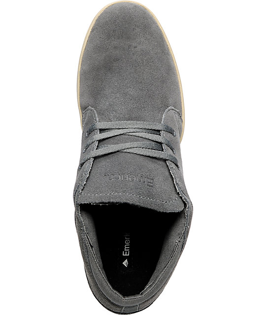 Emerica The Situation Grey Shoes