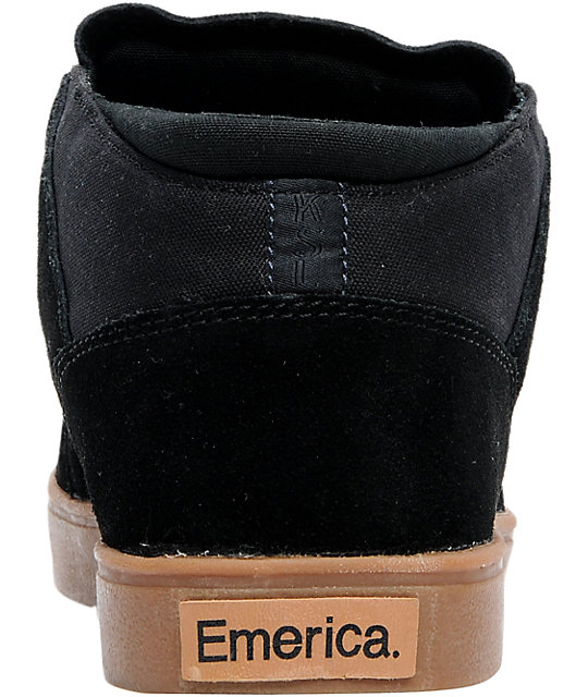 Emerica The Situation Spanky Black Shoes