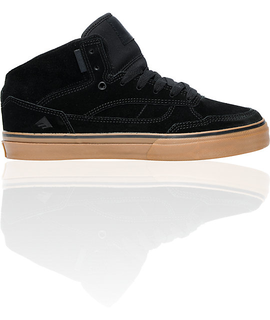 Emerica Westgate Black & Gum Skate Shoes