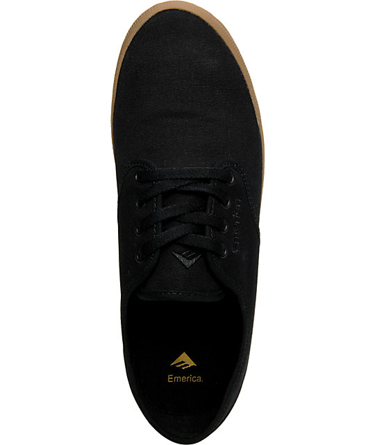Emerica Wino Black & Gum Shoes