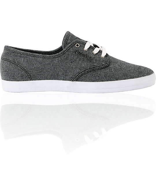 Emerica Wino Dark Grey Denim Shoes