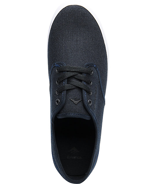 Emerica Wino Dark Navy Skate Shoes