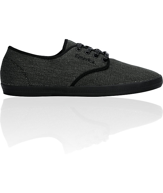 Emerica Wino Raw Black Shoes