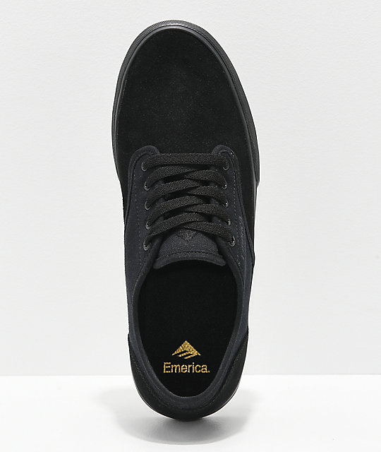 Emerica Wino Standard Black Skate Shoes