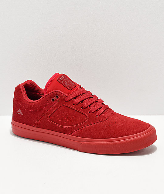 Emerica x Baker Reynolds 3 Red Skate Shoes
