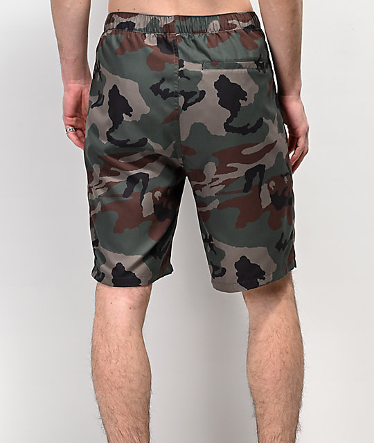 Empyre Adder Camo Board Shorts