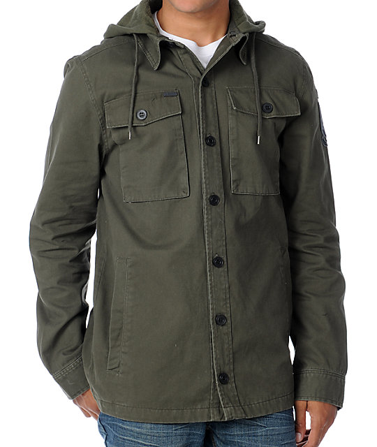 Empyre Aggressor Olive Mens Military Jacket