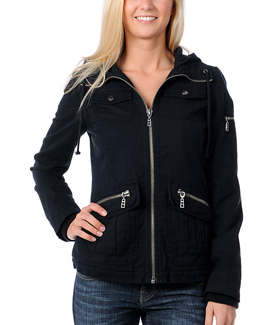 Empyre Alliance Black Bomber Jacket