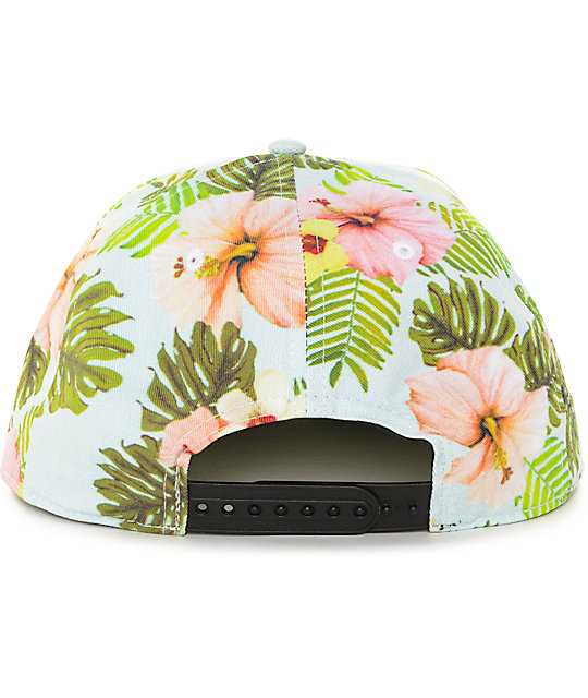 Empyre Aloha Snap It Blue Snapback Hat