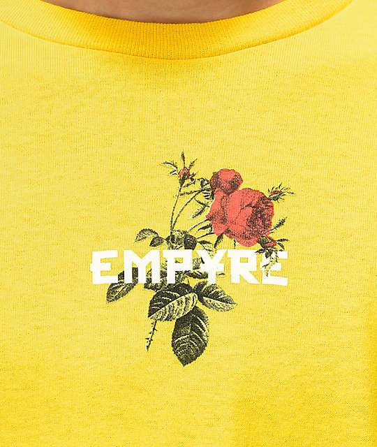 Empyre Altered Thought Yellow Long Sleeve T-Shirt