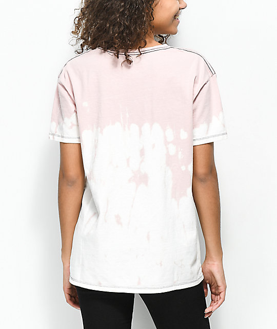 Empyre Annettey Not Today Pink & Bleach T-Shirt