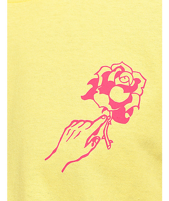 Empyre Ardent Rose camiseta en color amarillo