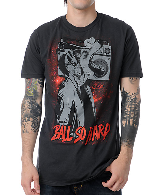 Empyre Ball So Hard Black & Red T-Shirt