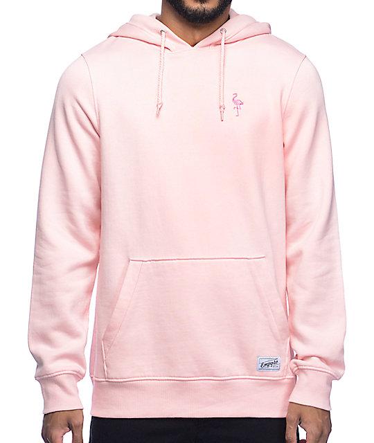 1696b75a Empyre Baseline Pink Hoodie | Zumiez